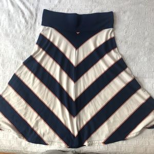 Old Navy A-line skirt, size L